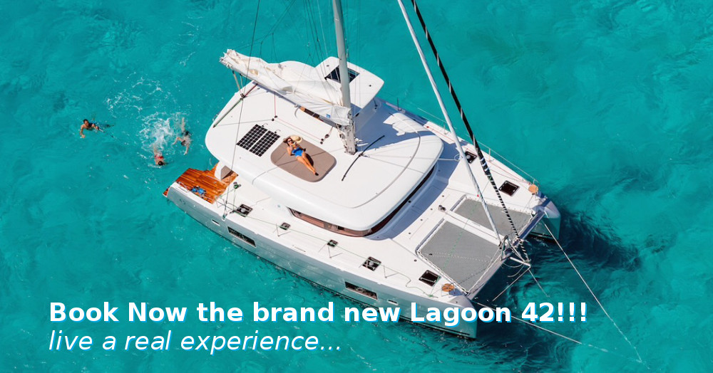 Book now the brandnew Lagoon 42